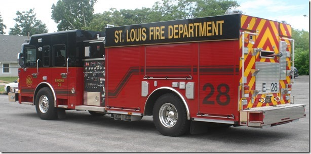 St Louis Fire Department Engine 28 Lme Company